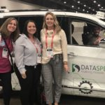 Some members of the mdg team checked out the autonomous drive demo while attending World Congress Experience.